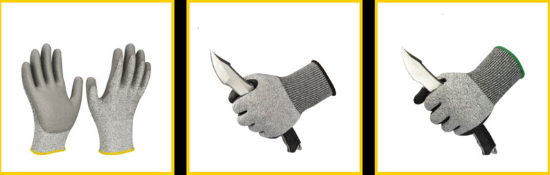 13g cut resistance gloves