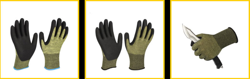 15g cut resistance gloves